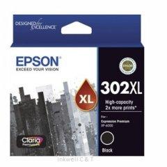 Epson 302HY Black C13T01X192 Ink Cartridge (Genuine)