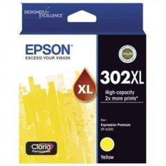 Epson 302HY Yellow C13T01Y492 Ink Cartridge (Genuine)
