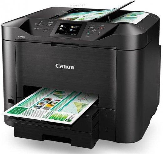 Canon-MB5460-520x490 Canon MB5460 Colour Inkjet Multifunction Printer