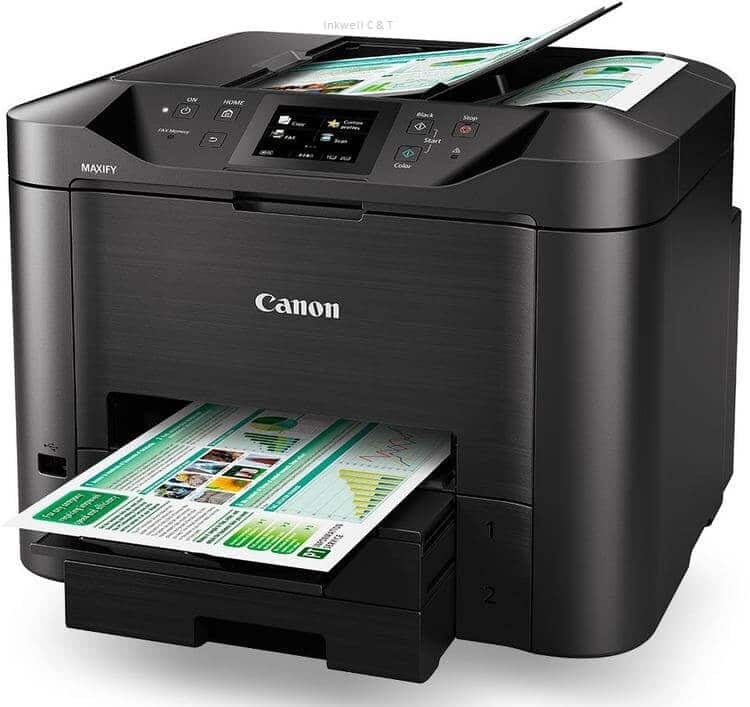 Canon-MB5460 Canon MB5460 Colour Inkjet Multifunction Printer