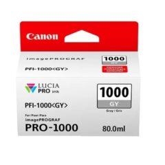 Canon PFi1000 Grey Ink Cartridge