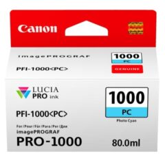 Canon PFi1000 Photo Cyan Ink Cartridge