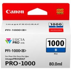Canon PFi1000 Blue Ink Cartridge