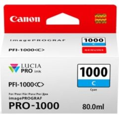 Canon PFi1000 Cyan Ink Cartridge