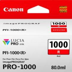 Canon PFi1000 Red Ink Cartridge