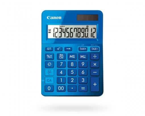 Canon-ls-123k-series-blur-510x408 Canon Calculator LS-123MBL Mettalic Blue