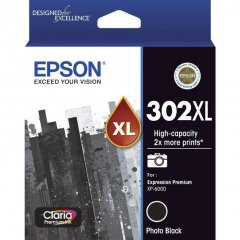 Epson 302XL Photo Black Ink Cartridge