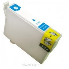 Epson 138 [C13T138292] Cyan Compatible Ink Cartridge
