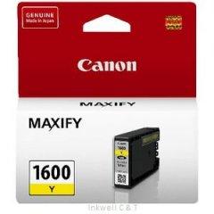 Canon PGI1600 Yellow Ink Cartridge (Genuine)
