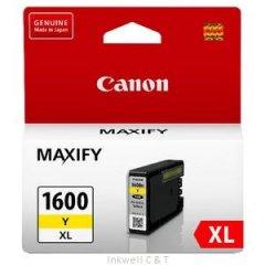Canon PGI1600XL Yellow Ink Cartridge (Genuine)
