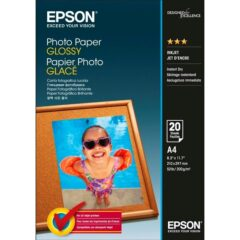 Epson Glossy A4 Photo Paper 20 Sheets