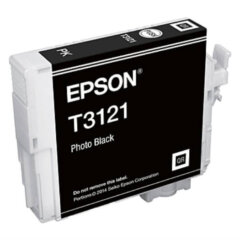 Epson T3121 Photo Black Ink Cartridge