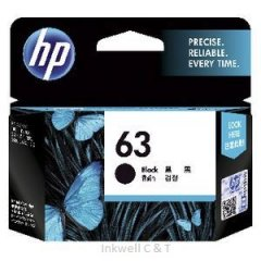 HP 63 Black F6U62AA Ink Cartridge (Genuine)