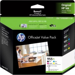 HP 955XL Value Pack Ink Cartridges
