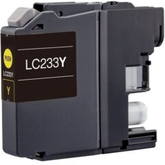 Compatible Brother LC-233 Yellow Ink Cartridge