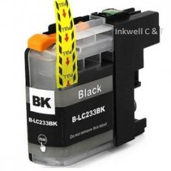 Brother LC-233 Black Ink Cartridge (Compatible)