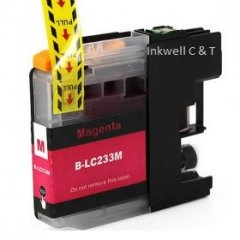 Brother LC-233 Magenta Ink Cartridge (Compatible)