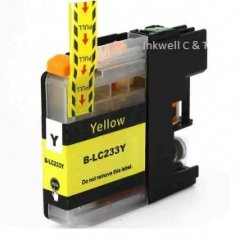 Brother LC-233 Yellow Ink Cartridge (Compatible)