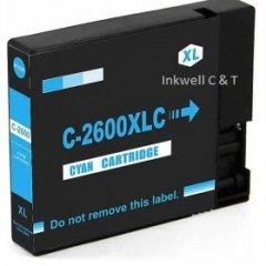 Canon PGI2600XL Cyan Ink Cartridge (Compatible)