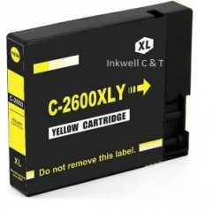 PGI-2600XLY-240x240 Canon PGI2600XL Yellow Ink Cartridge (Compatible)