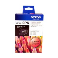 Brother LC-73 Black Twin Pack Ink Cartridges