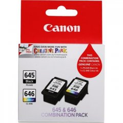 Canon PG-645 & CL-646 Combo Pack Ink Cartridges