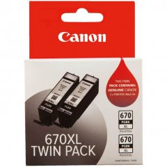 Canon PGi-670XL Black Ink Cartridges