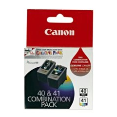 Canon PG-40 and CL-41 Combo Pack Ink Cartridges