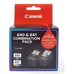 Canon PG-640 & CL-641 Cartridge Combo