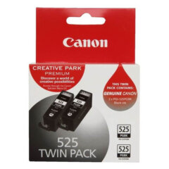 Canon PGi-525BK Black Ink Cartridge Twin Pack