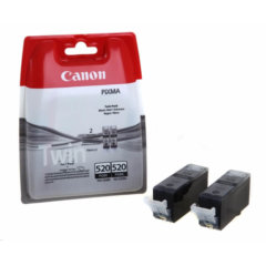 Canon PGi-520 Black Ink Cartridge Twin Pack
