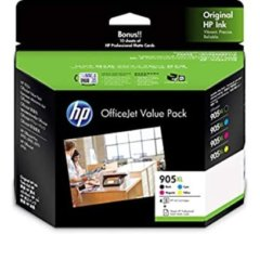 HP 905XL Value Pack Ink Cartridges