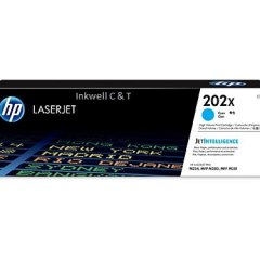 HP 202X CF501X Cyan Toner Cartridge (Genuine)