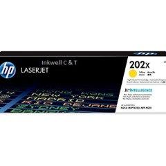 HP 202X CF502X Yellow Toner Cartridge (Genuine)