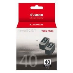 PG40-twin-240x240 Canon PG-40 Black Ink Cartridges Twin Pack (Genuine)