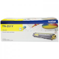 Brother TN-251Y Yellow Genuine Toner Cartridge