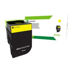 Lexmark 808HY Yellow Toner Cartridge