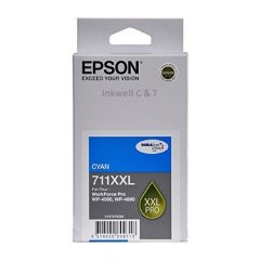 711XXL C13T675292 Epson Cyan Ink Cartridge (Genuine)