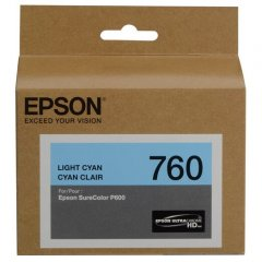 Epson 760 Light Cyan Ink Cartridge
