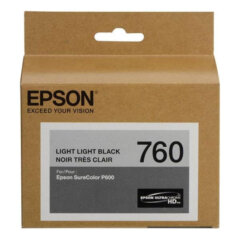 Epson 760 Light Light Black Ink Cartridge