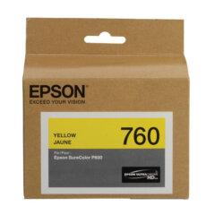 Epson 760 Yellow Ink Cartridge
