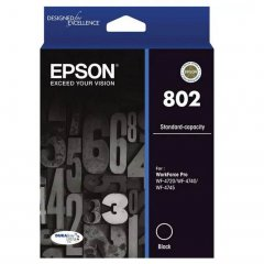 Epson 802 Black Ink Cartridge