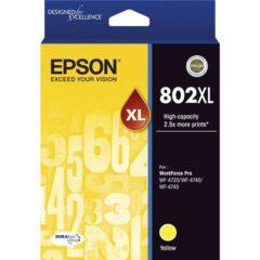 Epson 802XL Yellow Ink Cartridge