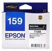 Epson T1598 Matt Black C13T159890 Ink Cartridge (Genuine)