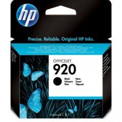 920 CD971AA HP Black Ink Cartridge (Genuine)