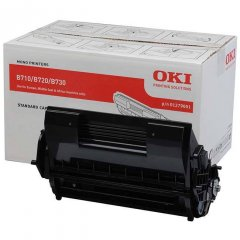 Oki B720 1279001 Black Genuine Toner Cartridge