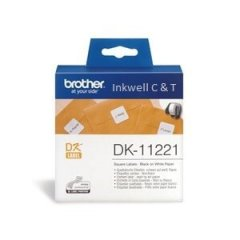 DK11221 Brother Labels White Labels 1000 per roll