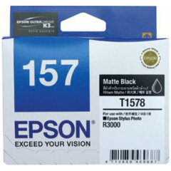 Epson T1578 Matt Black Ink Cartridge