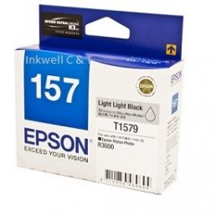 Epson T1579 Ligh Light BlackC13T157990 Ink Cartridge (Genuine)