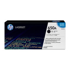 HP 650A Black Toner Cartridge